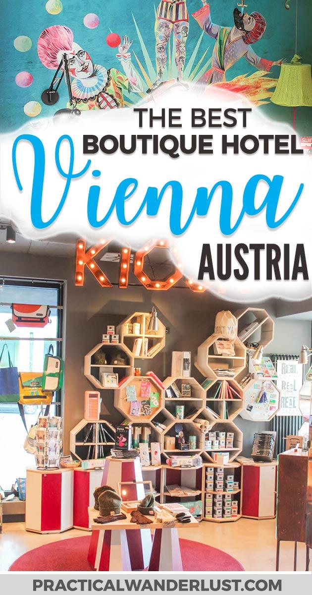 25 Hours Hotel is the best boutique hotel in Vienna, Austria.