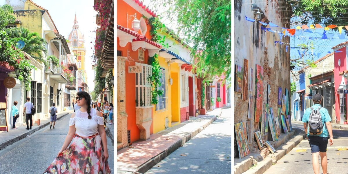 Cartagena, Colombia is one of the most photogenic cities in the world. We've visited several times, and we're sharing the most instagrammable places in Cartagena to take photos during your trip to Colombia!