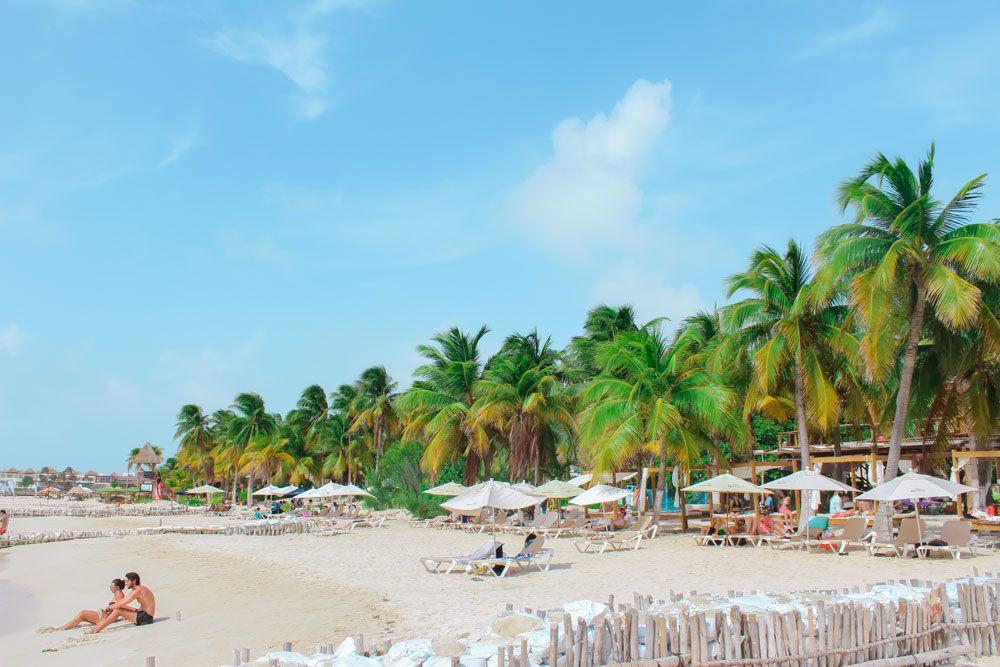 Playa Norte in Isla Mujeres, Mexico.