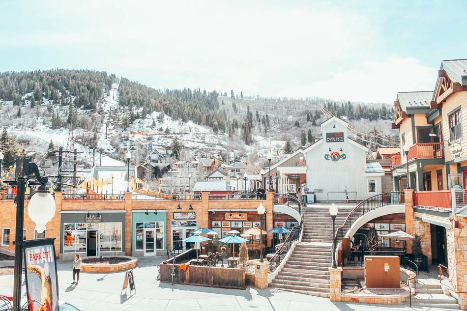 The Town Run at Park City Mountain Resort takes you directly into town from the Park City Mountain Resort.