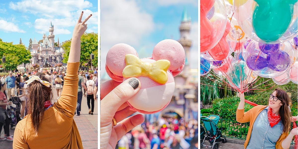 The best Disneyland photography tips, plus creative (& Instagrammable) Disneyland picture ideas to help you capture your next trip! Created by a former Cast Member.