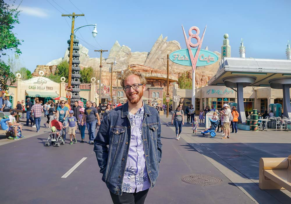 Car's Land in Disney's California Adventure is definitely one of the most Instagrammable places in Disneyland!