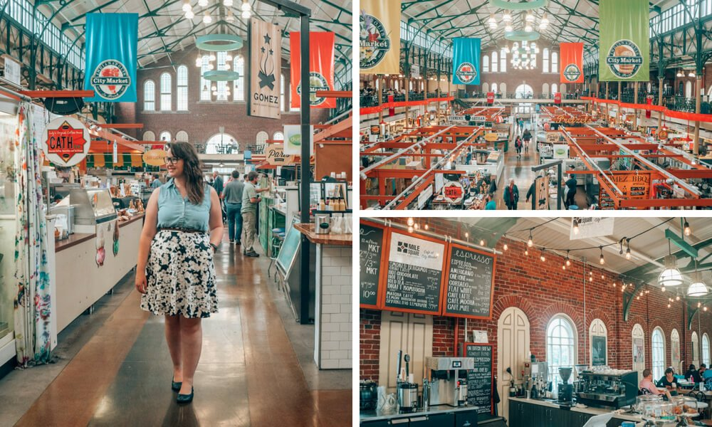 City Market in Indianapolis, Indiana.
