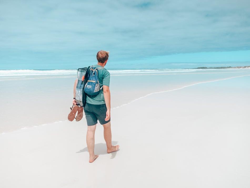 Tortuga Bay Beach, Santa Cruz, Galapagos Islands, Ecuador.