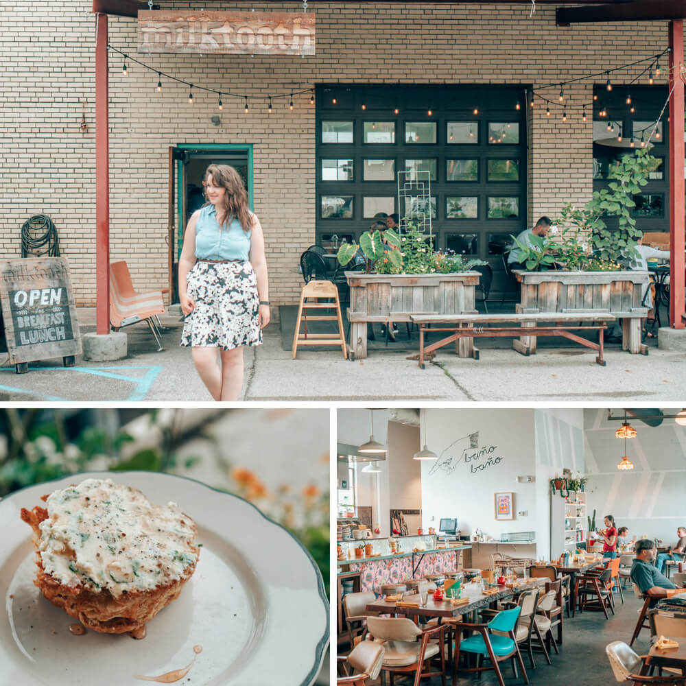 Milktooth, one of Indianapolis, Indiana's best restaurants.
