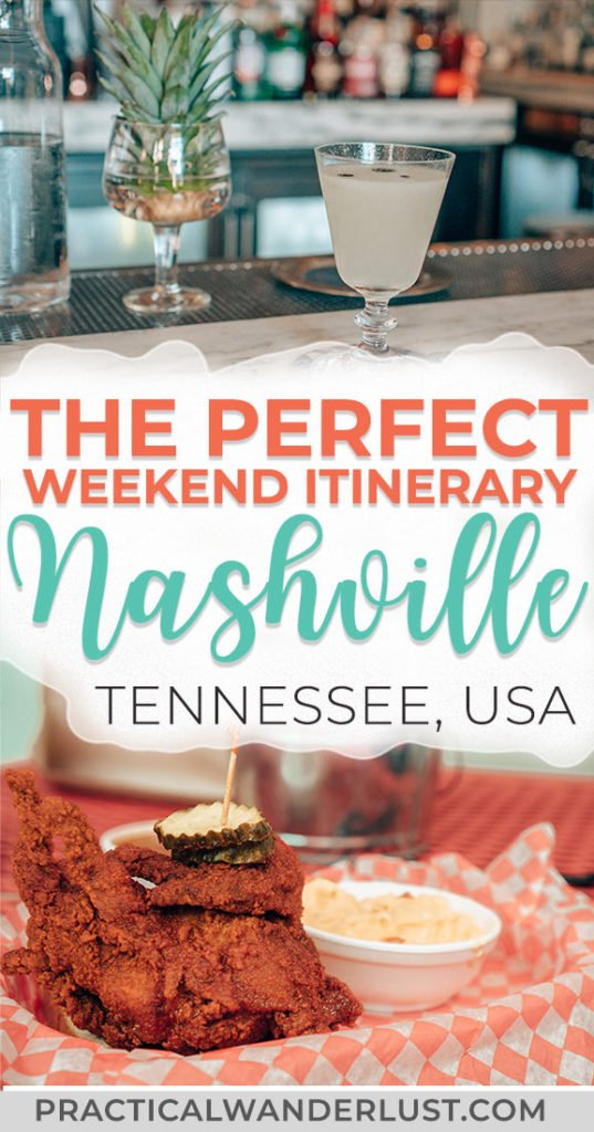 The perfect foodie weekend itinerary to Nashville, Tennessee. Where to eat and drink, what to do, street art, attractions, the Grand Ole Opry, and more. Visit one of the coolest destinations in the USA and eat your way through Music City! #travel #Nashville