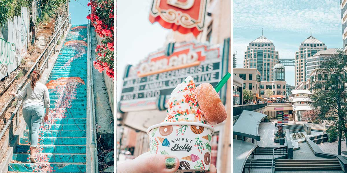 Redwoods. Baseball games. The Ale Trail. Incredible food. Historic theatres. Street art. There's so much to explore in Oakland, California (Psst: it's right next door to San Francisco). This locals guide tackles 26 of the best things to do in Oakland! Come across the Bay to Oakland next time you're traveling to San Francisco, California.