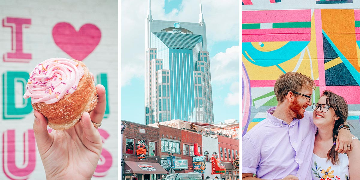 The perfect weekend in Nashville itinerary, complete with the best food and drinks, culture, history, art, and of course, all the music Music City has to offer! The itinerary is perfect for couples seeking romantic things to do in Nashville, Tennessee.