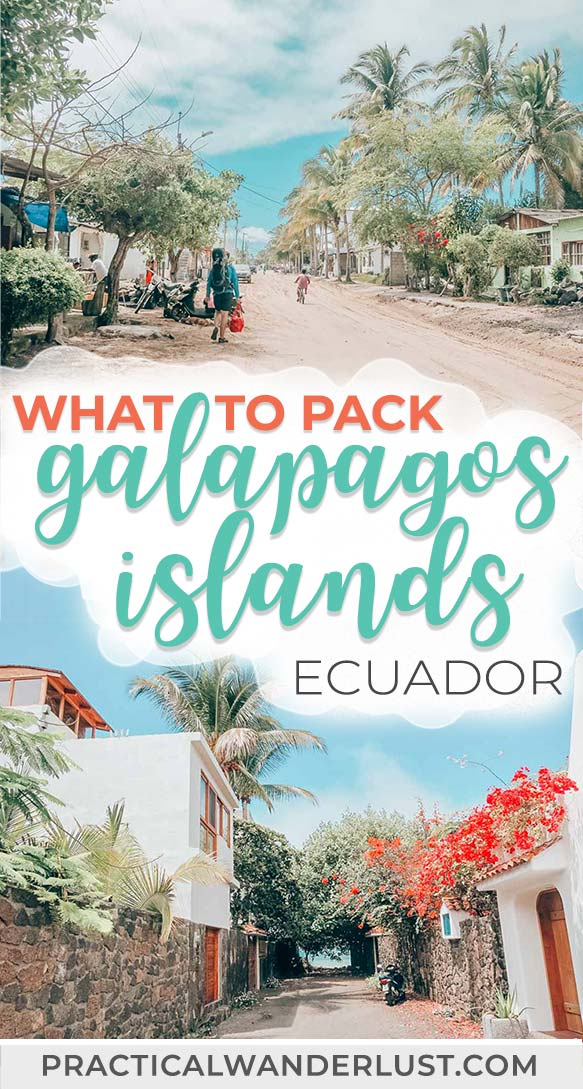 The essential Galapagos Islands packing guide! What to pack for a trip to the Galapagos Islands, plus Galapagos Islands tips and a downloadable guide to this amazing Ecuador travel destination in South America. #travel #Ecuador #Galapagos #SouthAmerica