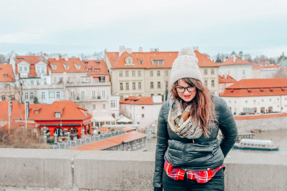 Lia Garcia in Prague, Czech Republic.