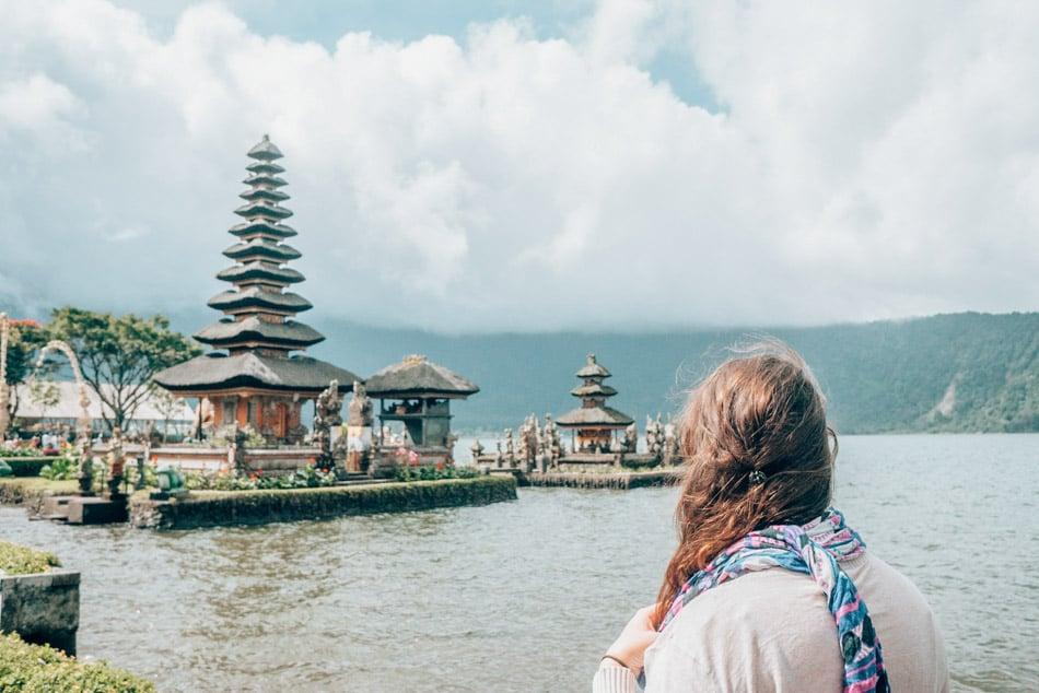 Lempuyang water temple in Bali, Indonesia