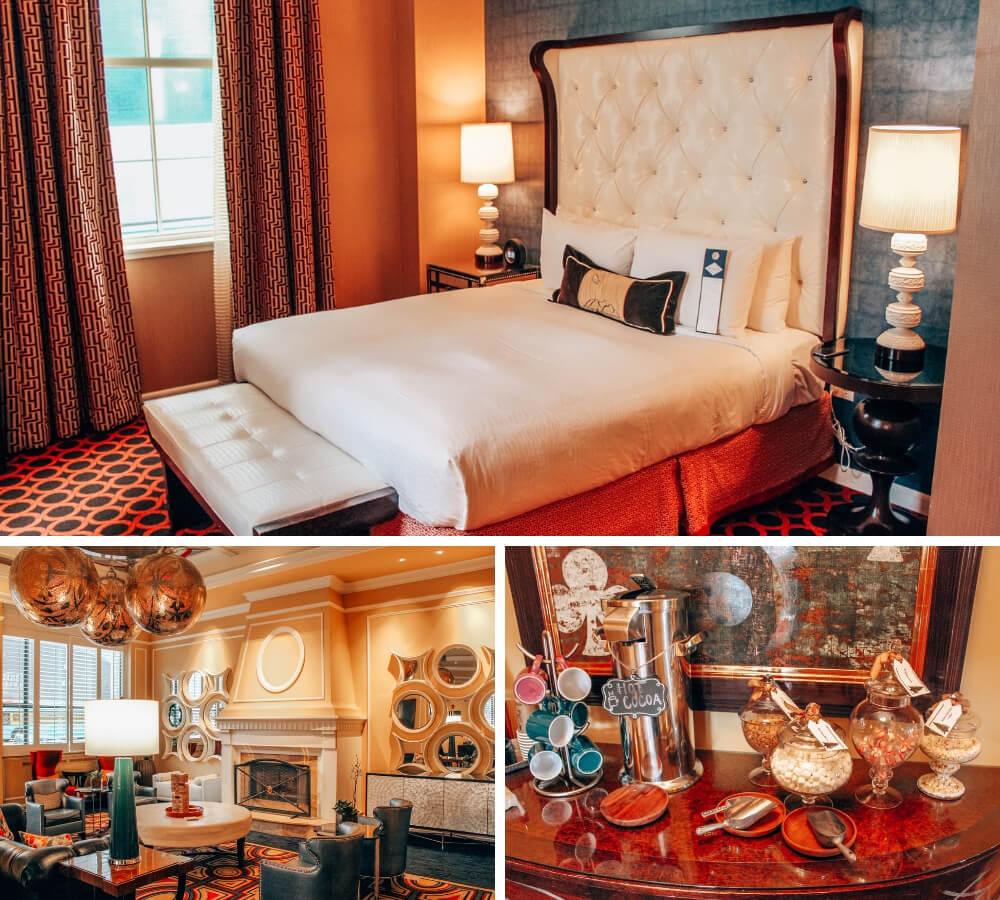 The Kimpton Hotel Monaco in Salt Lake City, Utah.