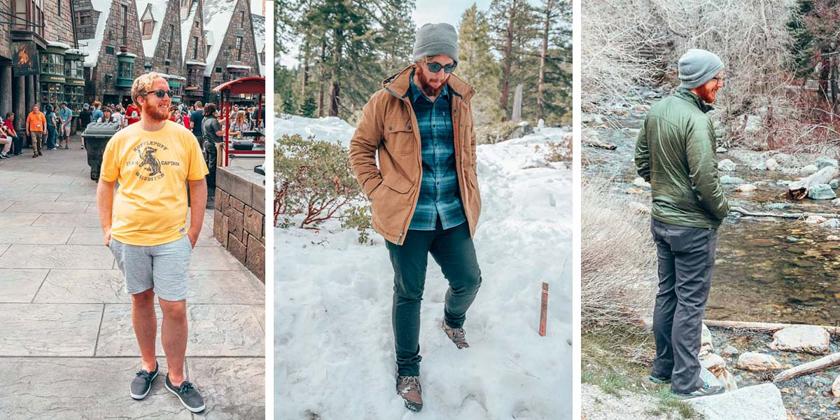 The best men's shoes for travel, from winter boots to walking shoes to travel sandals.