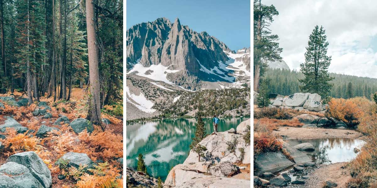 The Sierra Nevada Mountains are full of stunning places to go hiking. Here are 8 scenic day hikes in California's eastern Sierra Nevada mountains!