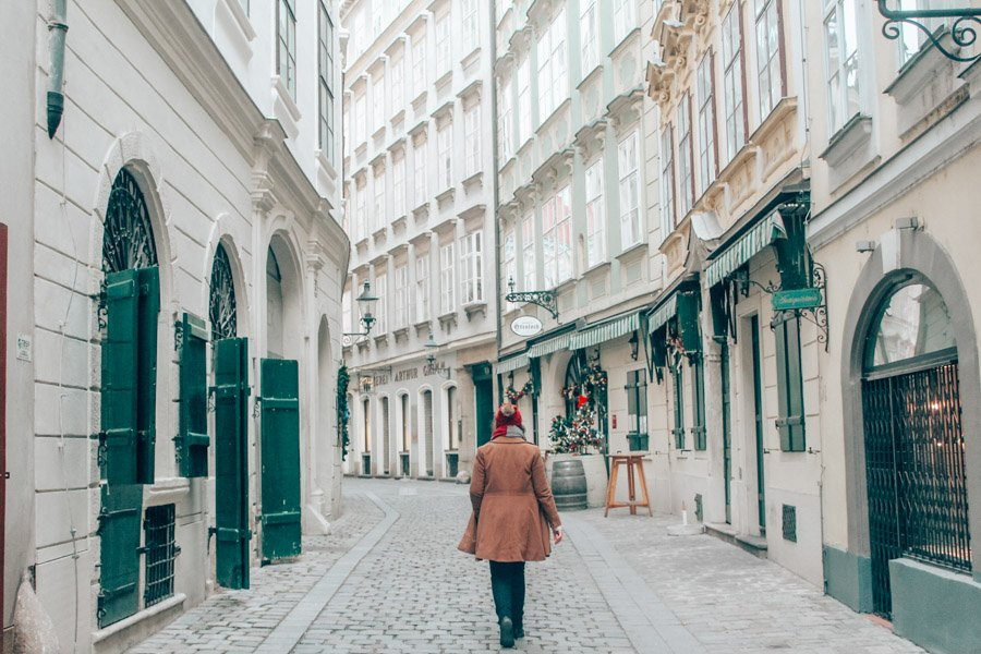 Spend at LEAST one day getting lost in Old Town Vienna's picturesque alleys and cobblestone streets!