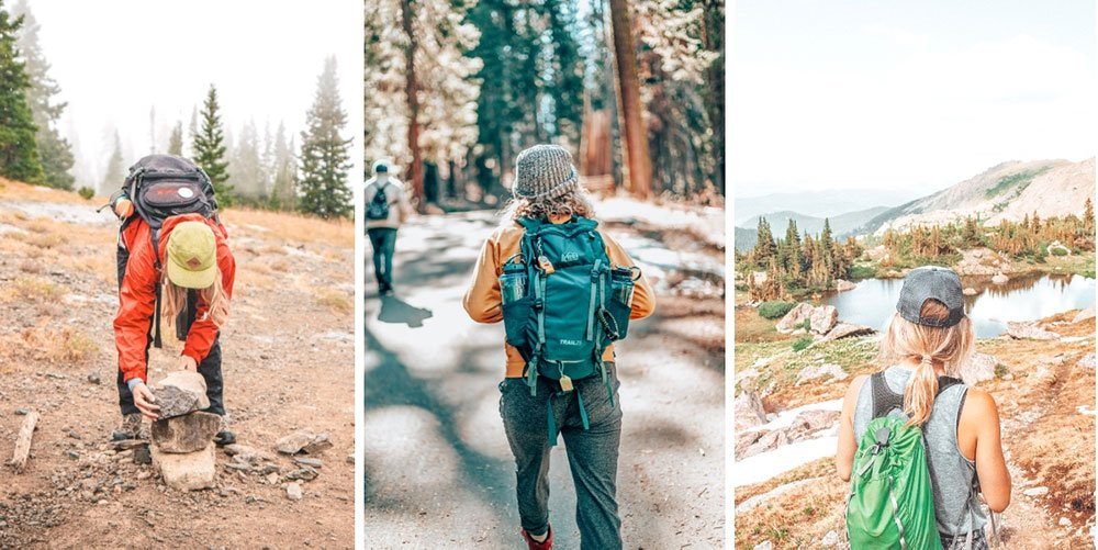 25 amazing gifts for hikers under $25, so you can splurge on your friend or family member who's addicted to hiking without breaking the bank! #giftguide #hiking