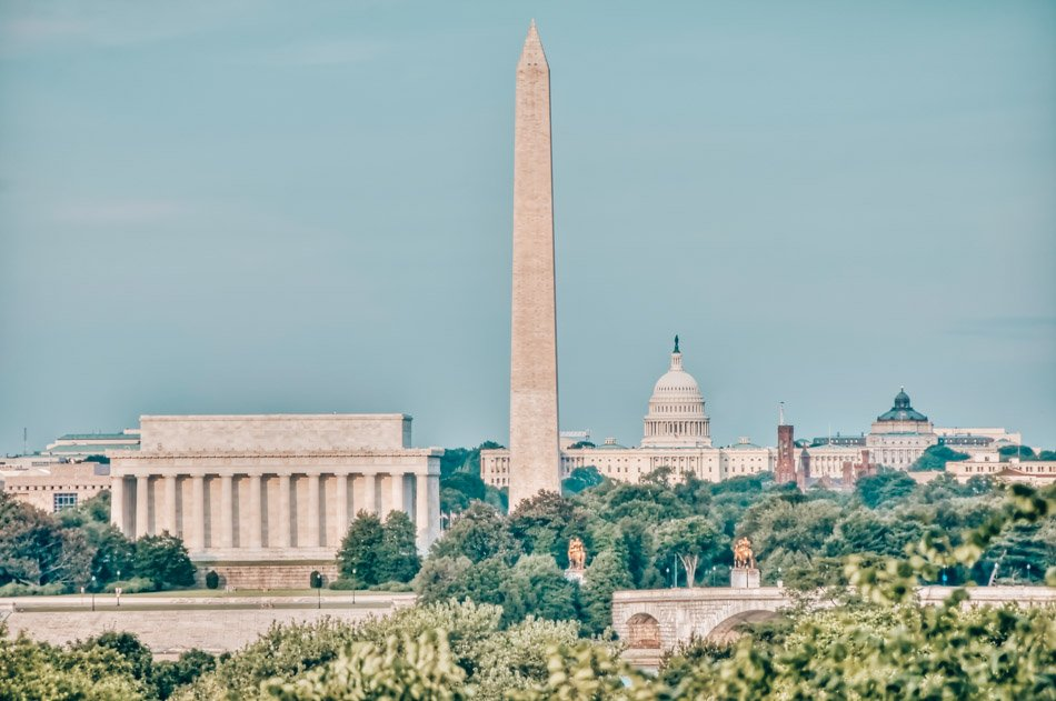 The National Monument in Washington, DC.