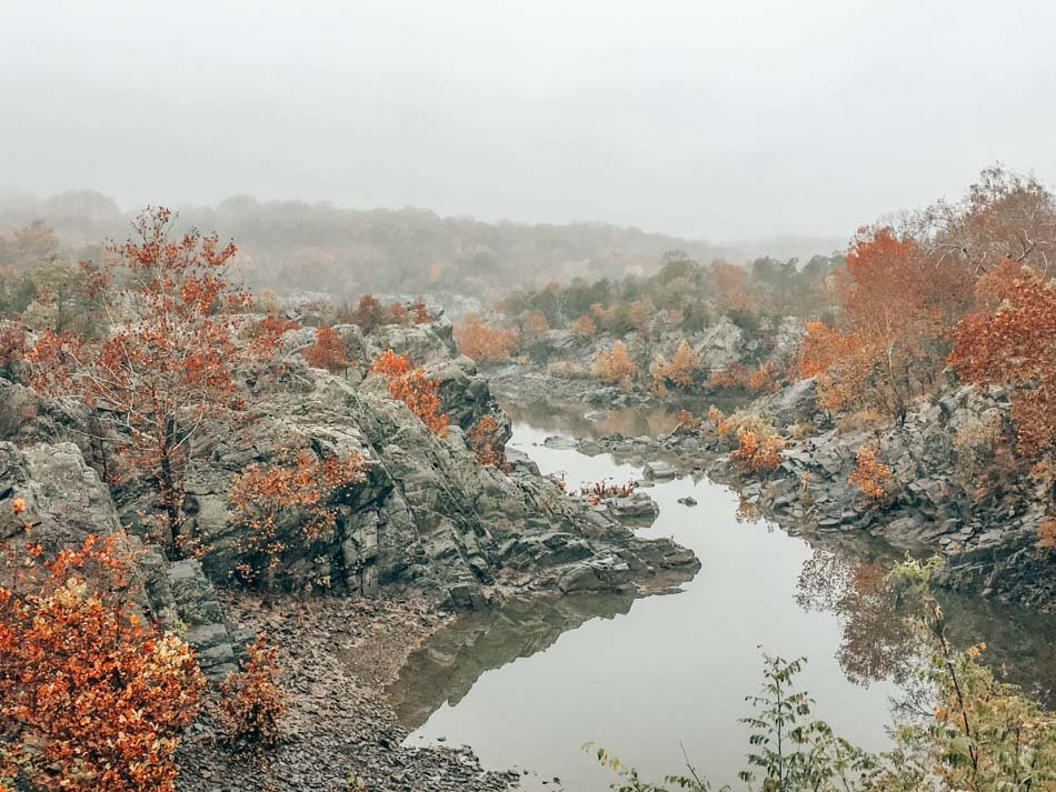 Great Falls is one of the best day trips from Washington DC, especially if you like hiking and getting out in nature!