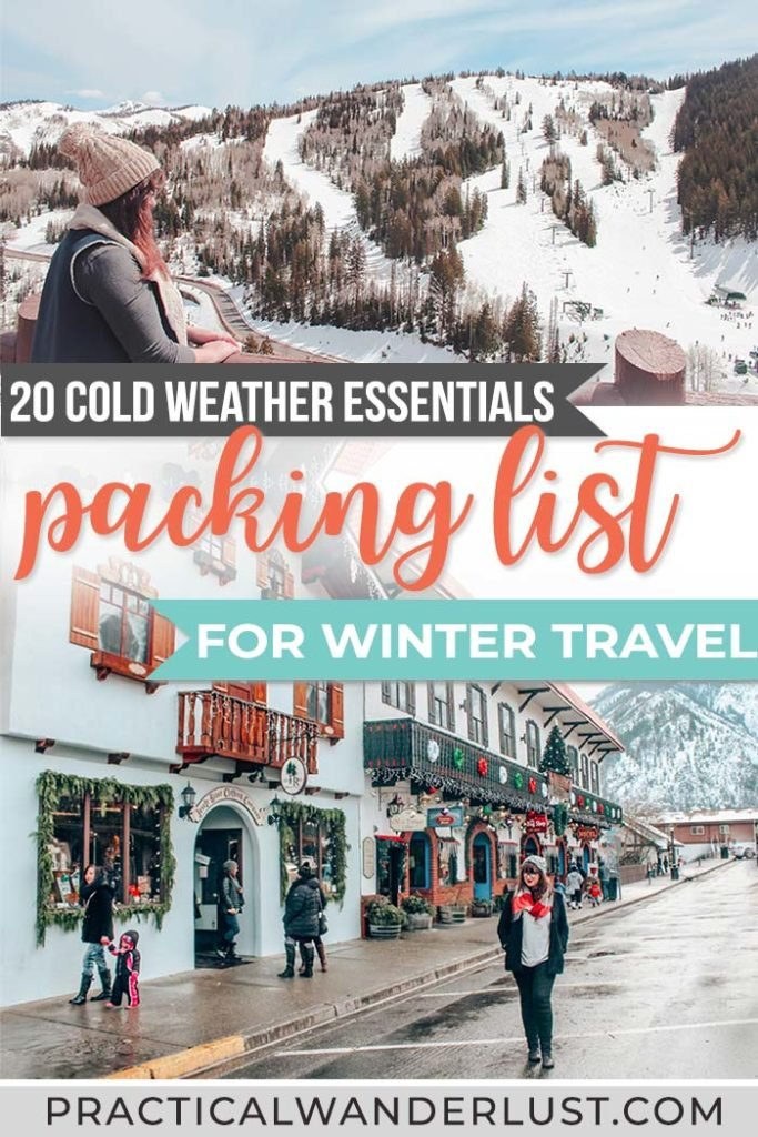 Stumped on what to pack for your winter vacation? Here are 25 tried & true essentials for cold weather travel.