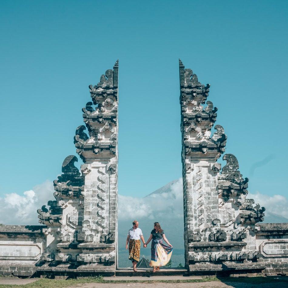 Heaven's Gate at Lempuyang Temple in Bali, Indonesia