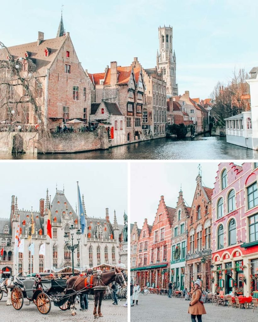 Bruges, Belgium in the winter, an off-beat stop on your winter Europe itinerary.