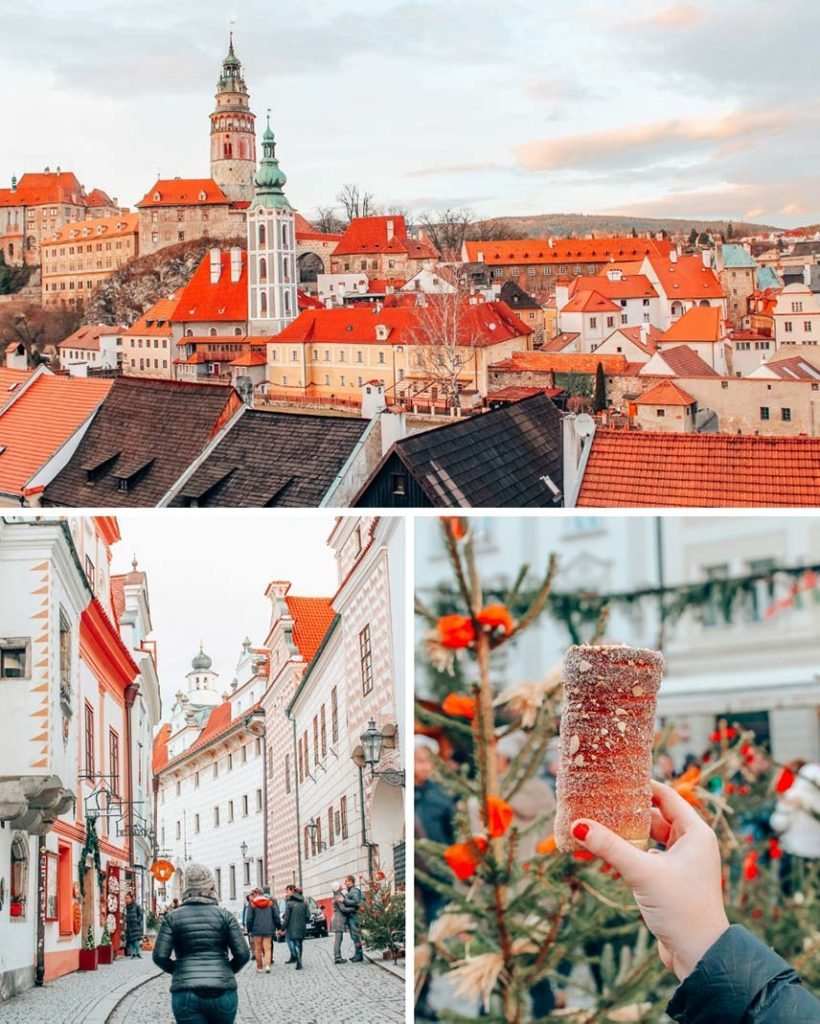Český Krumlov, Czech Republic is a medieval town and UNESCO World Heritage site located in Bohemia and dating back to the 1200's. The town is built around a windy river at the foot of a giant castle, exactly like the cover of every fairytale book ever written.