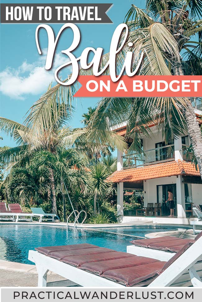 Is it possible to travel Bali on a budget? YES! Here's everything you need to know to save money on a budget-friendly trip to Bali, Indonesia, including how much a vacation in Bali actually costs. #Bali #Indonesia
