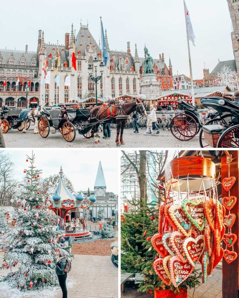 The Northwestern Europe Itinerary includes Copenhagen, Bremen, Amsterdam, Bruges, and Brussels. It's the perfect Christmas and New Years winter trip to Europe!