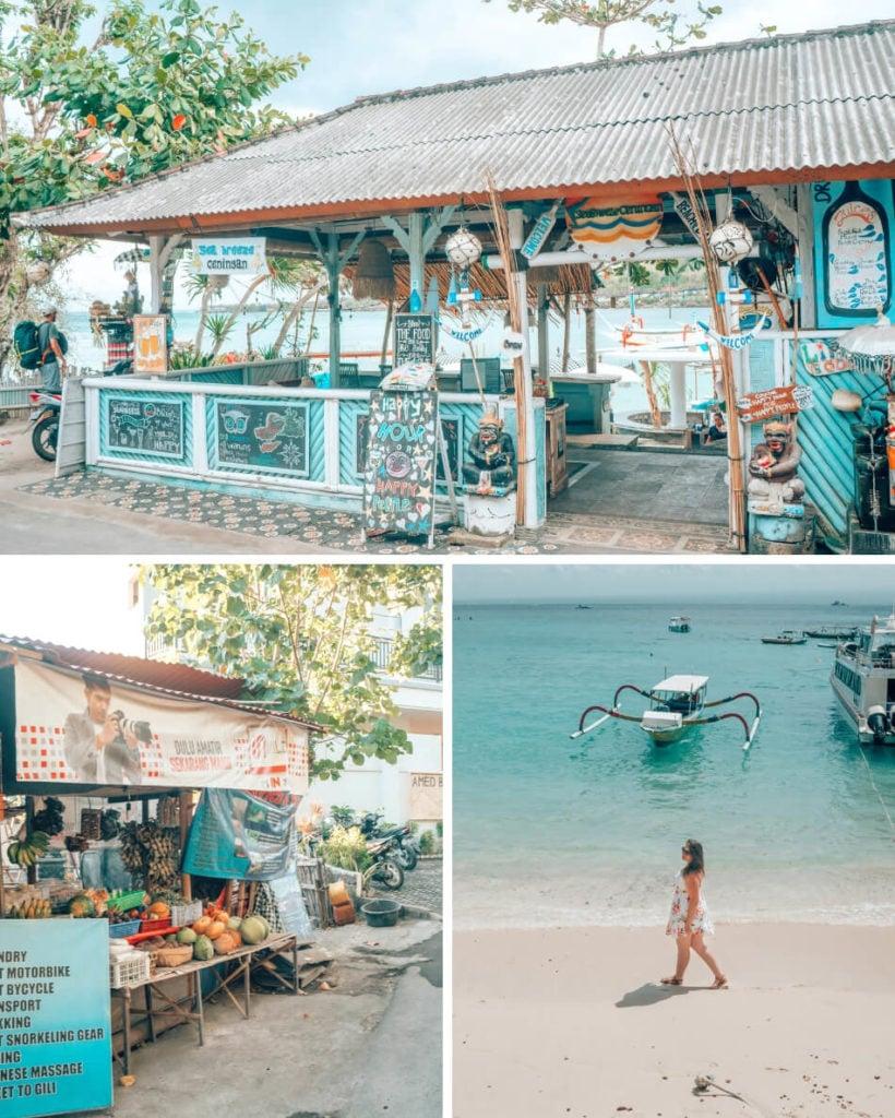 The coast in Bali, Indonesia.