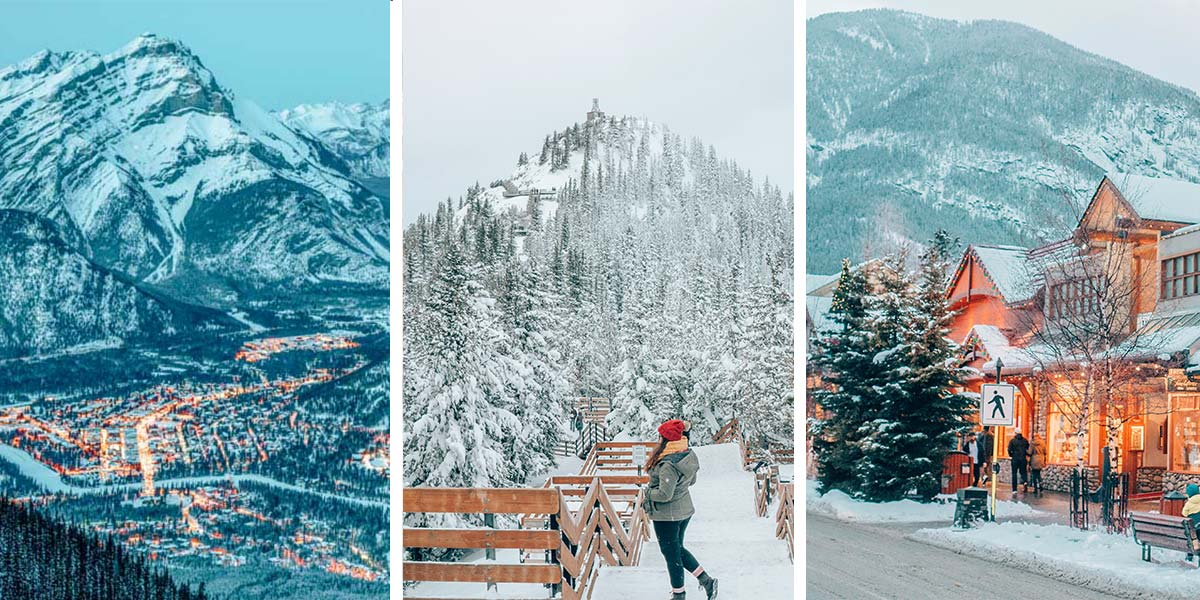 The Ultimate Banff Winter Guide and 12 epic things to do in Banff in the winter!