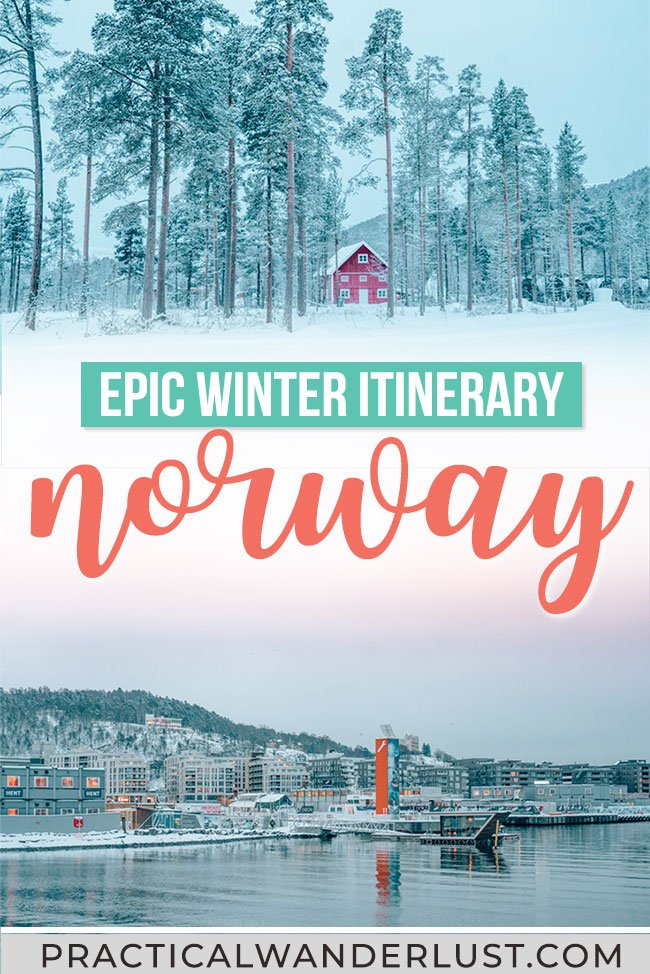The perfect 7 day Norway winter itinerary! Reindeer, Northern Lights, Alta, Tromso, Lofoten, Bergen, Oslo, and the Arctic Tundra - Here's the perfect 1 week Norway travel itinerary for winter. #Norway #Winter #Travel
