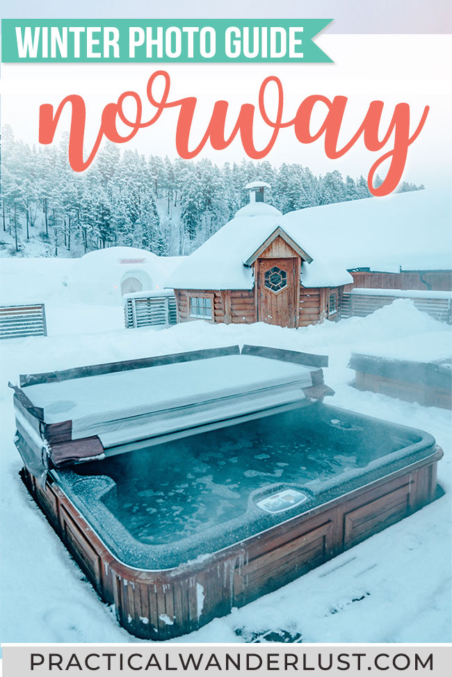 Northern Lights, reindeer, Igloo hotels, hot saunas, fjords, arctic tundra ... Norway is a winter dream. Here's a photo travel guide to Norway winter travel to inspire your wanderlust! #Norway #Winter #Travel