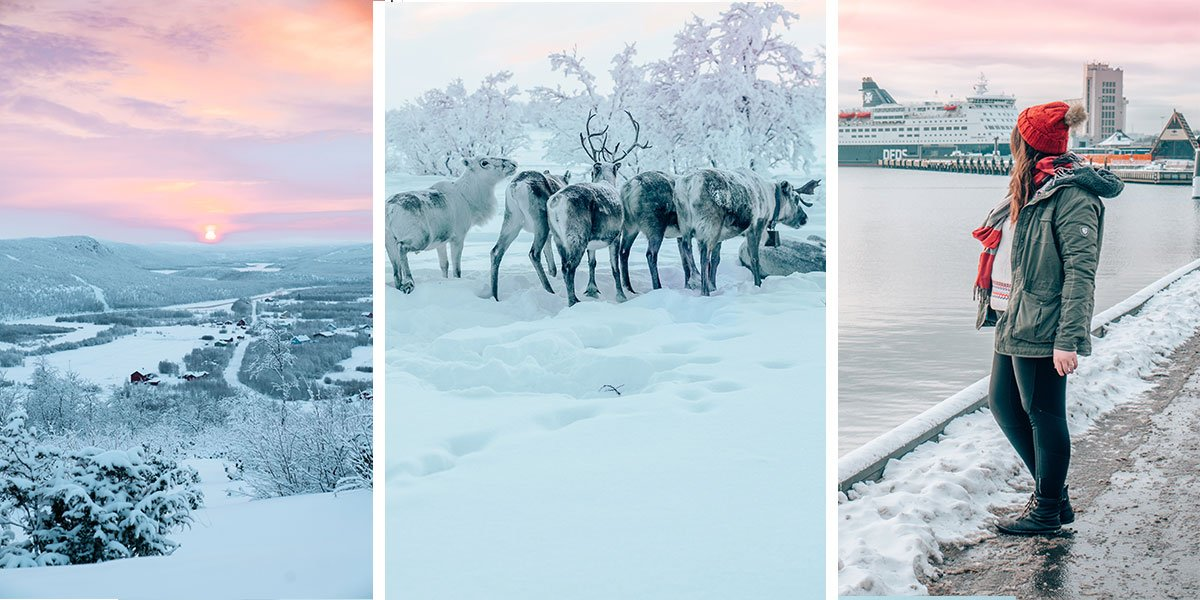 Noway, in the winter is a stunning winter wonderland. Northern Lights, reindeer, dog sledding, and fjords - our photo guide to Norway in the winter will have you booking a flight to Norway in no time!