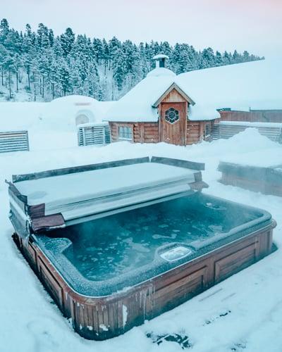 Sorrisniva Igloo Hotel in Alta, Norway