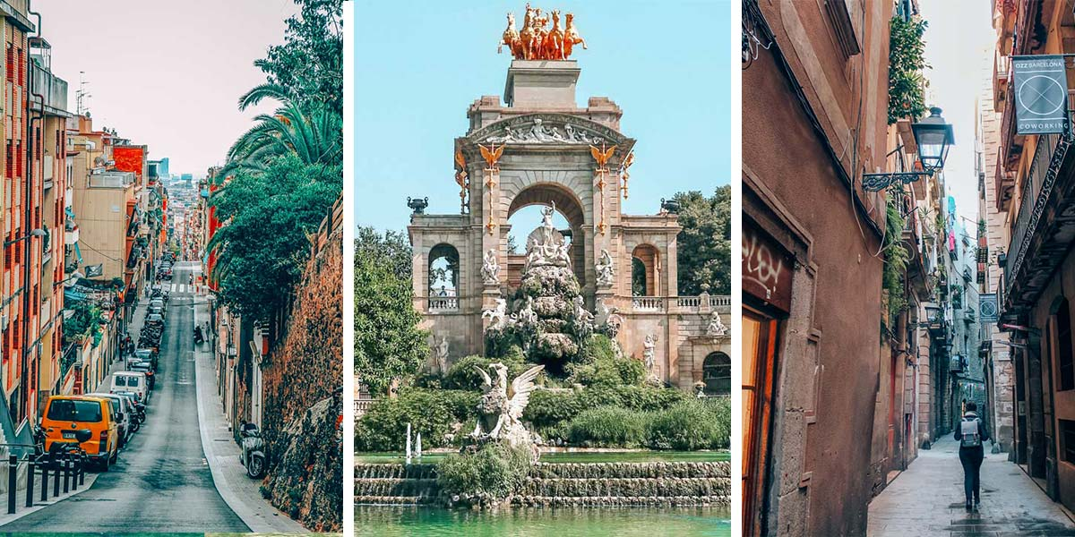 Barcelona, Spain is the center of Catalan history and culture! One of the best things to do in Barcelona is to explore the Old Center and Gothic Quarter. This walking tour of Barcelona takes you to La Boqueria, La Rambla, the Jewish Quarter, the Barcelona Cathedral, and more. (Yes, there's a map.)