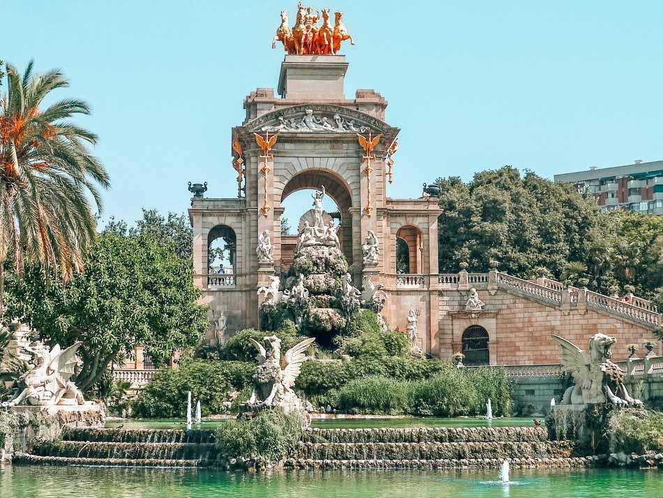 Park Ciutadella in Barcelona, Spain.