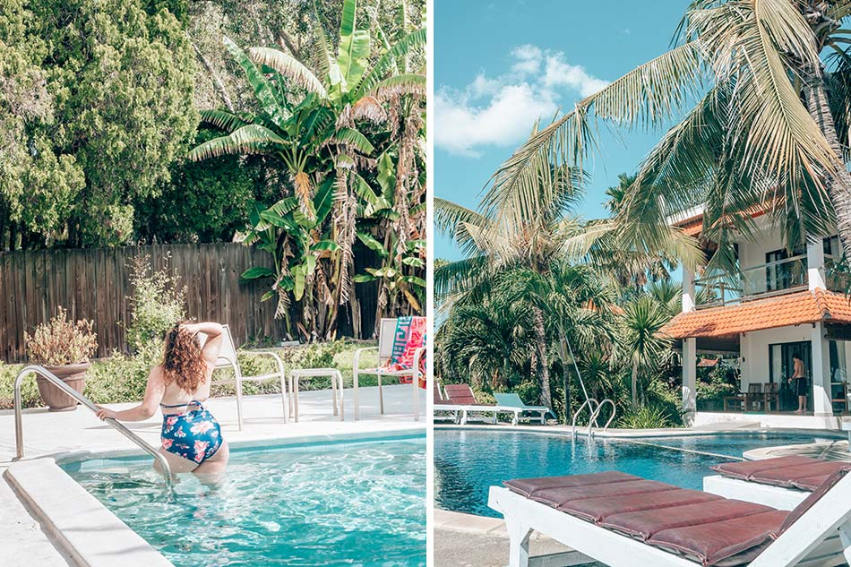Poolside in Bali, Indonesia