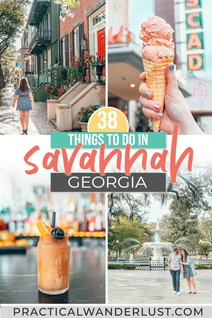 In this Savannah travel guide, you'll find all the best Savannah things to do. Here's where to eat, where to drink, and where to meet ghosts in beautiful Savannah, Georgia.