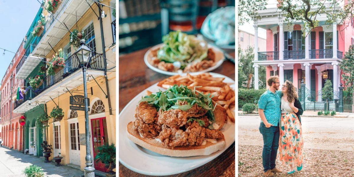 Beignets. Jazz music. Festivals. Ghosts. Gumbo. 3 days in New Orleans is just enough time to eat plenty of Creole food, befriend some ghosts, learn about the complex history and local culture, and explore New Orleans' most beautiful neighborhoods. Here's the perfect 3-day New Orleans itinerary!