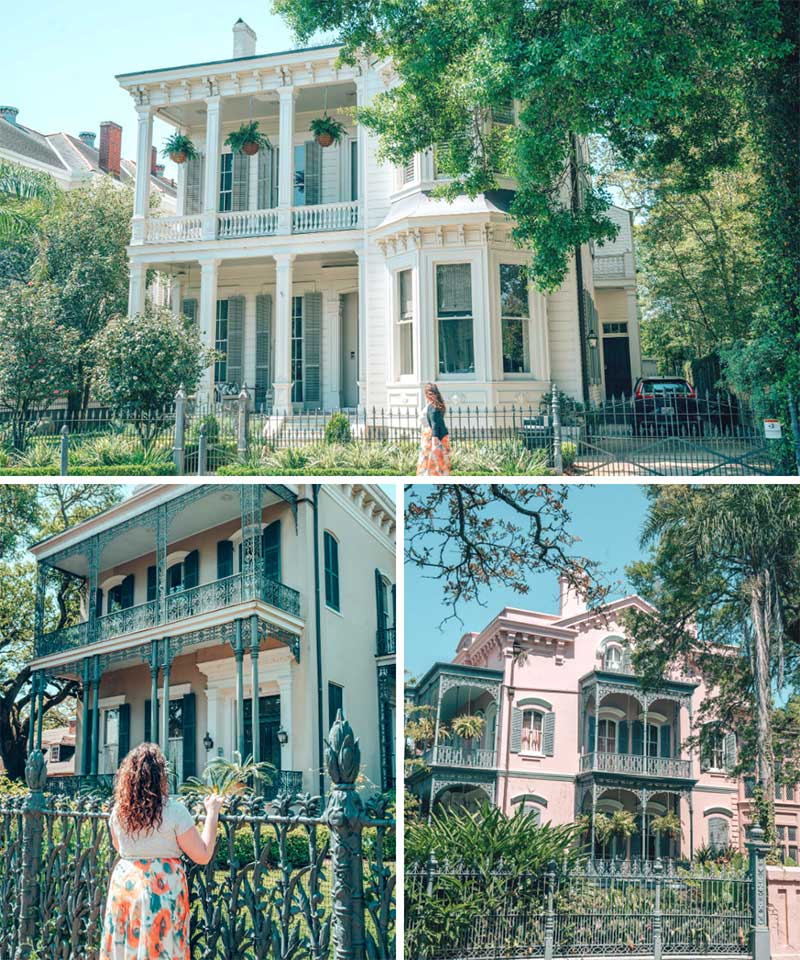 The Garden District in New Orleans, Louisiana