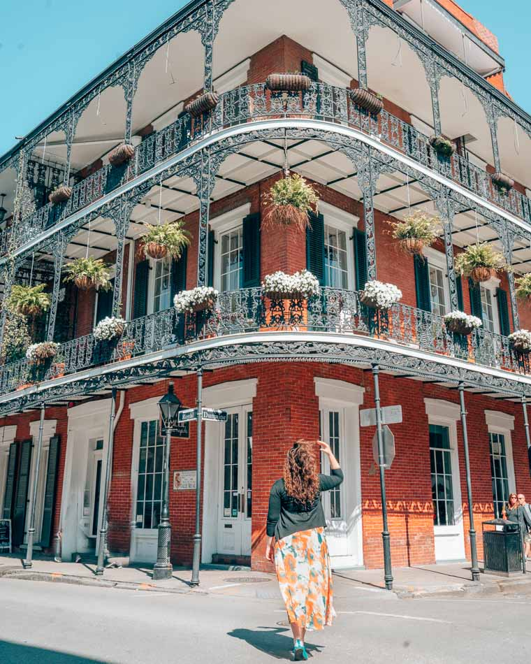Lia and Jeremy from Practical Wanderlust in New Orleans, Louisiana.