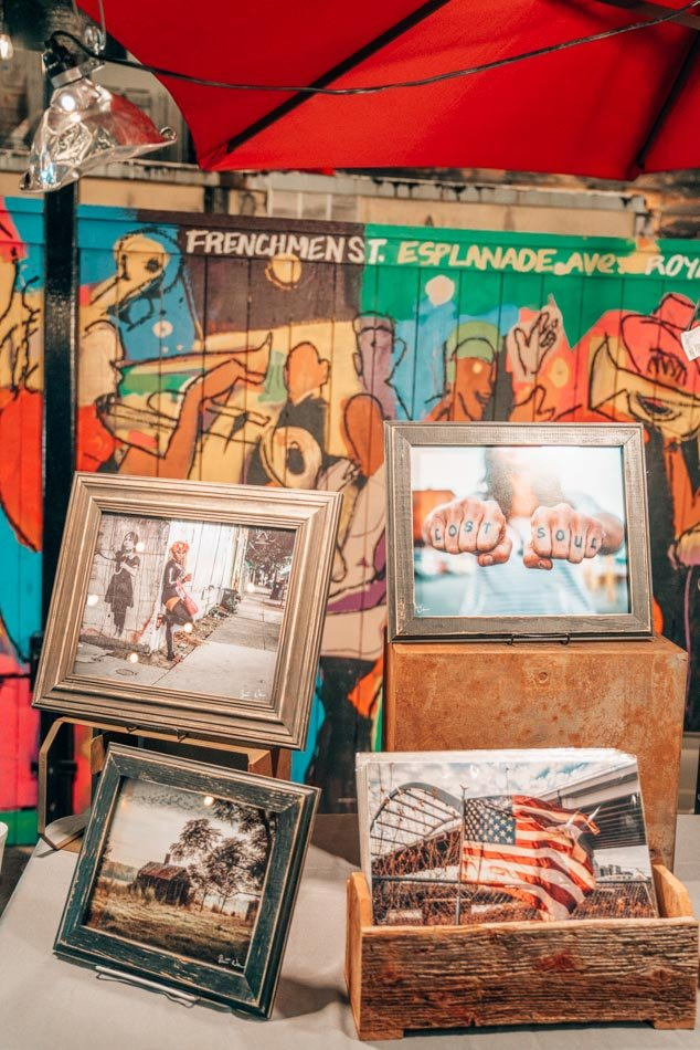 Support local artists and shop for a souvenir at the Palace Market on Frenchmen's, a rad art market that's open until midnight!