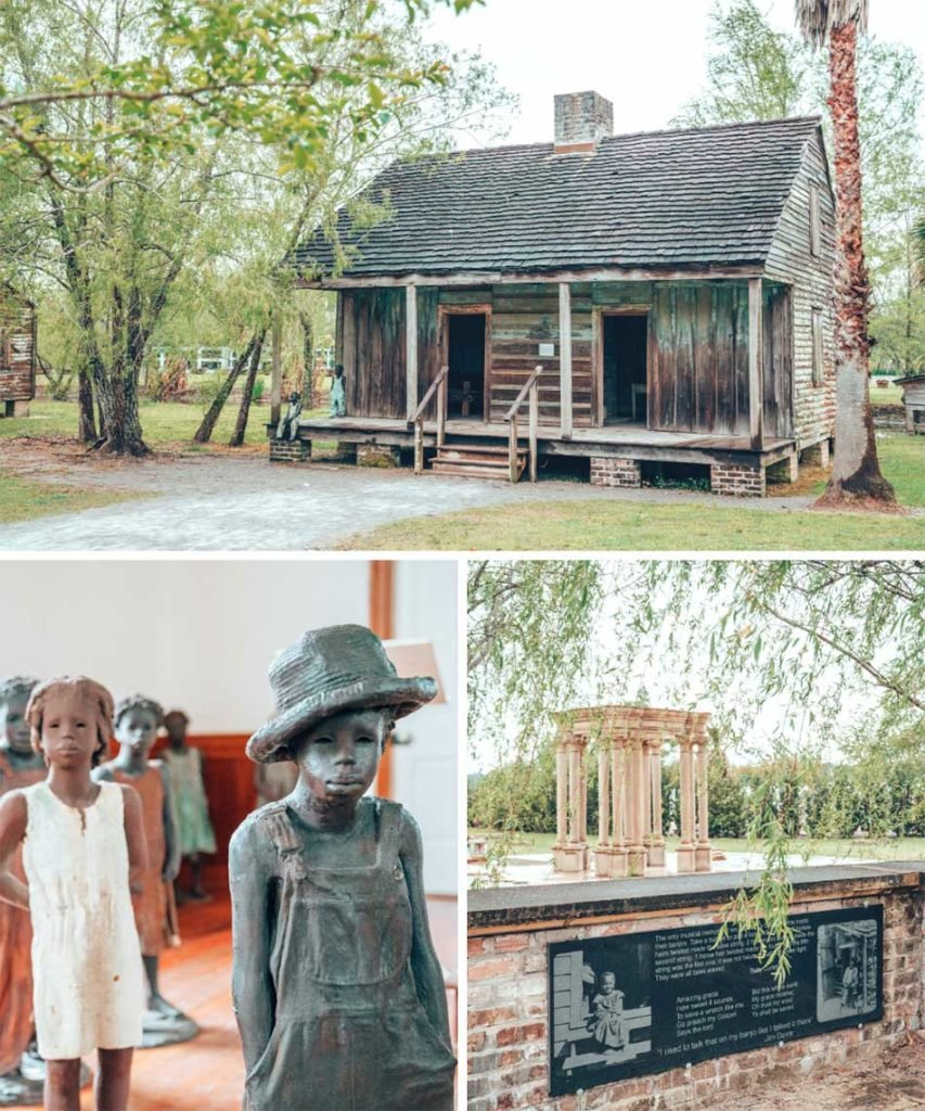 Whitney Plantation is the only plantation museum in Louisiana with an exclusive focus on the lives of enslaved people. The site functions as a memorial to the lives lost during slavery, with a brutally honest look at the harsh realities of the Louisiana sugar plantations.