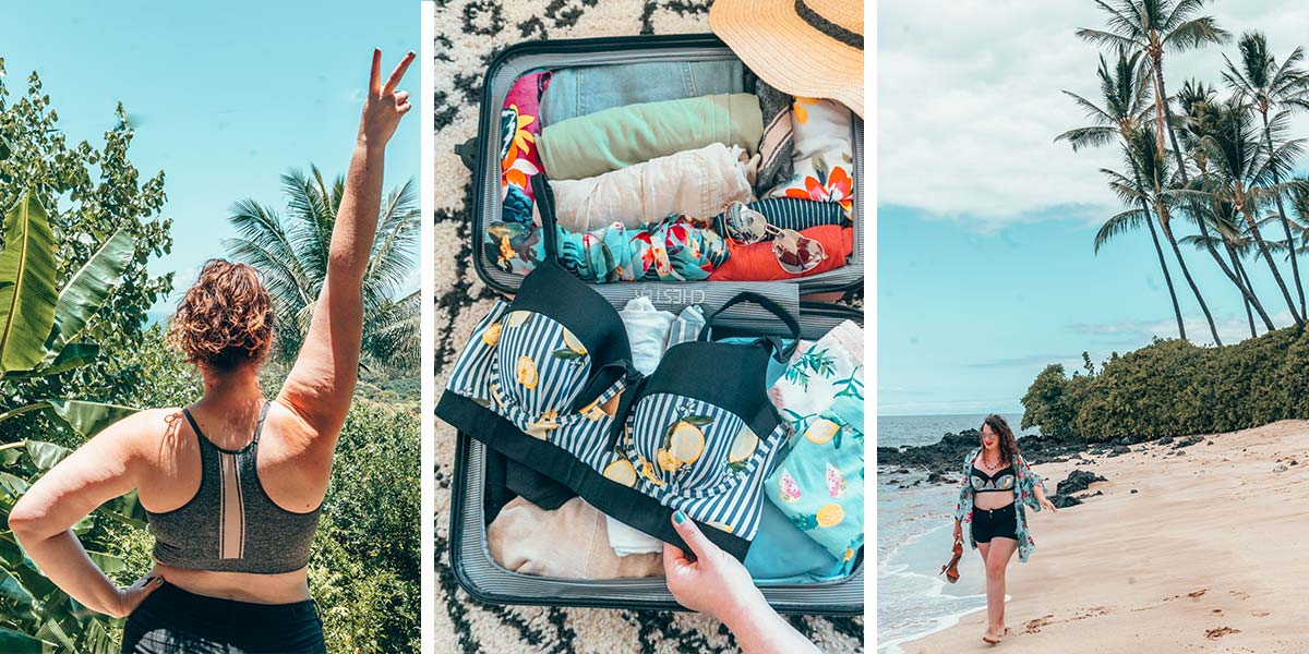 Wondering what to pack for the beach? The ultimate curvy girl's beach vacation packing list is the practical, body positive packing guide you need to hit the beach this summer. Everything in our beach packing list is tried, tested, and plus size friendly!