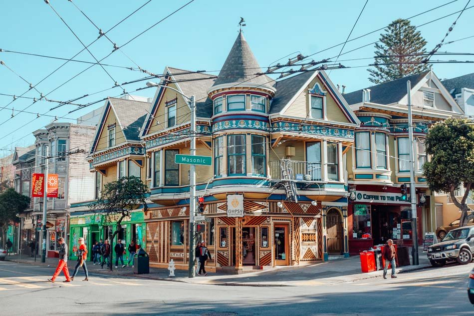 Victorian Home ni San Francisco, California.