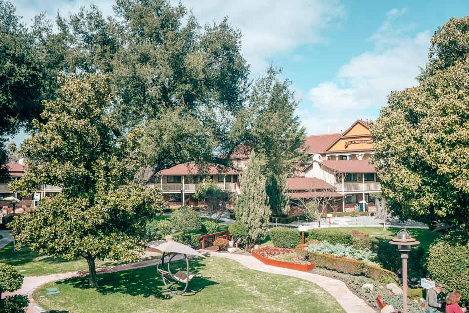 Paso Robles Inn on the square in Paso Robles, California