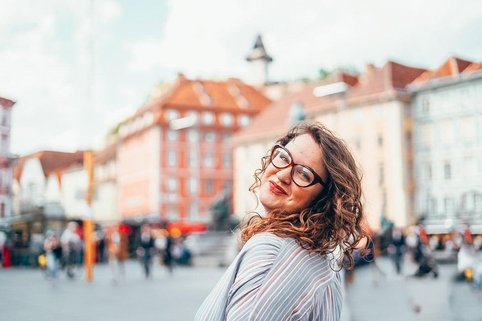 Lia Garcia in Graz, Austria.