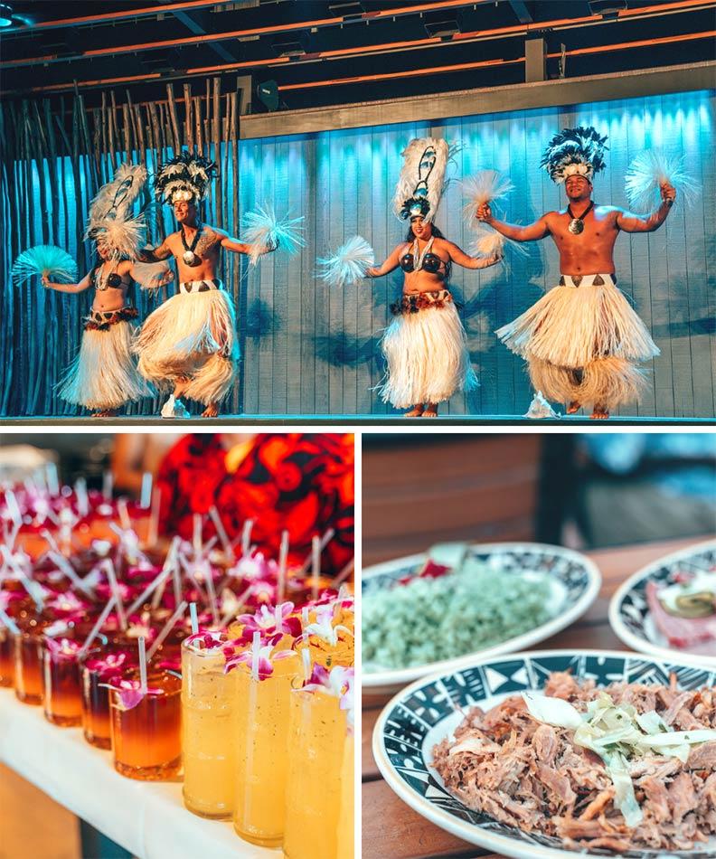 The Feast at Lele, a luau in Maui, Hawaii.