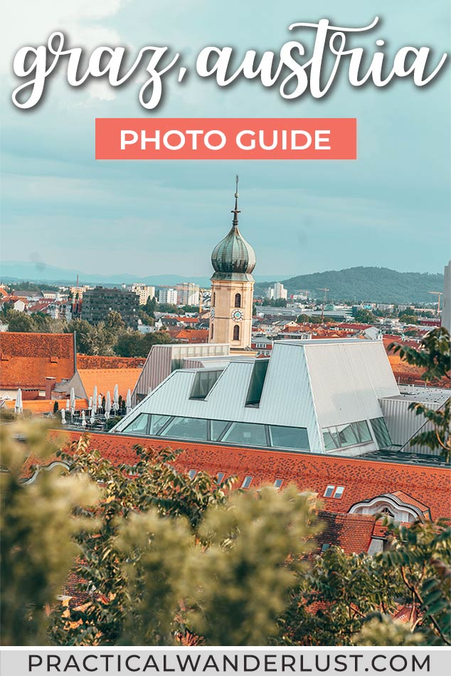 Graz, Austria is one of the best places to visit in Austria! A short train ride from Vienna, Graz is a foodie destination, a UNESCO world heritage site, and a UNESCO city of design. This photo travel guide will make you want to book a trip to one of Europe's most undiscovered cities!