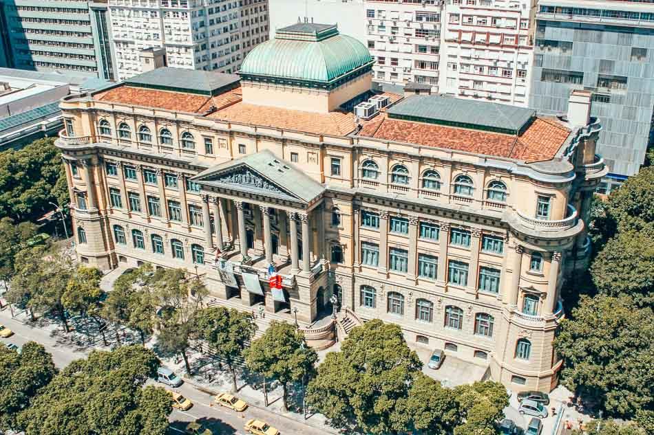 Fundação Biblioteca Nacional aka the National Library in Rio de Janeiro, Brazil.
